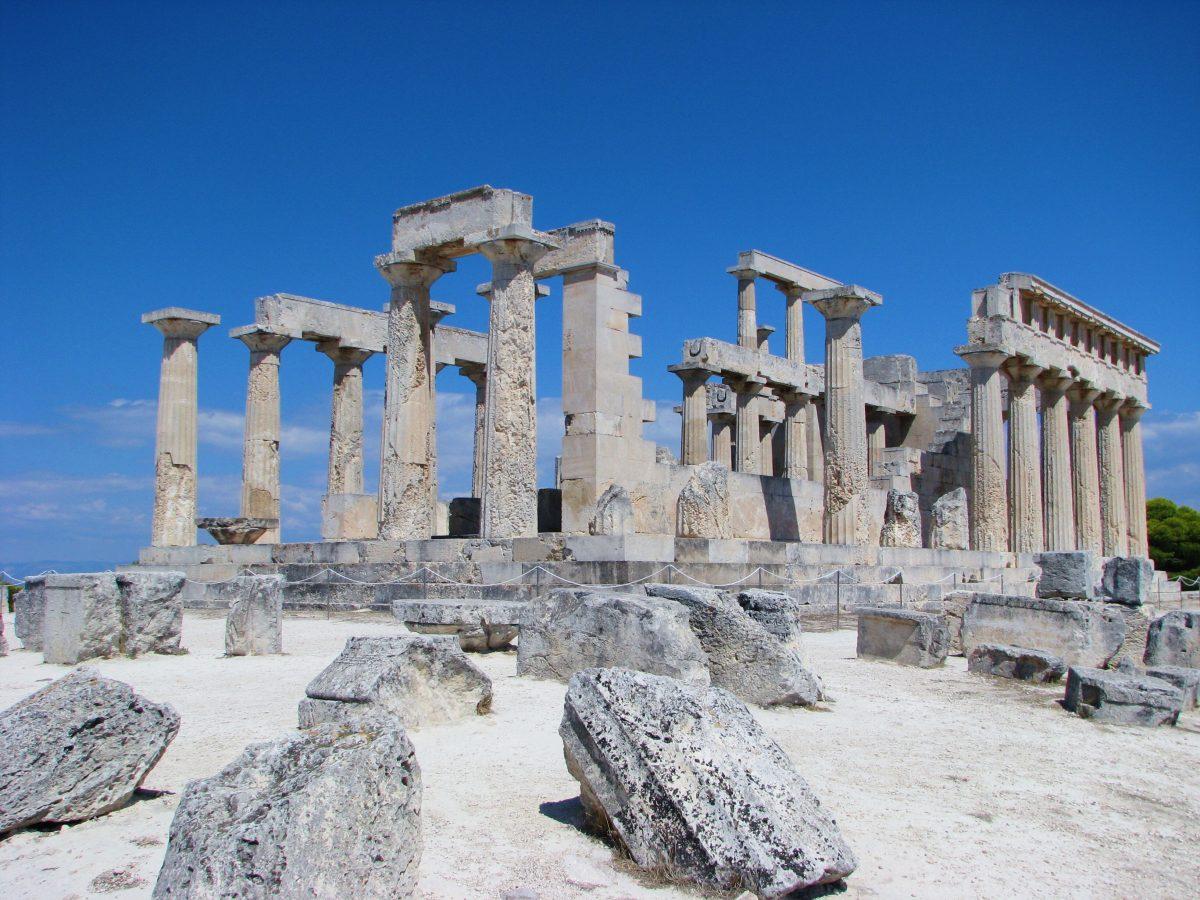 archaeological site Aegina