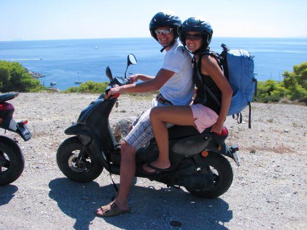 Getting Around Aegina Island