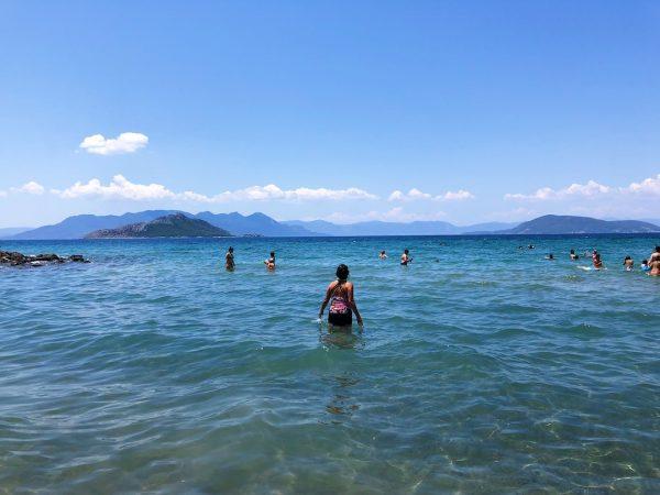 Beaches of Aegina Greece