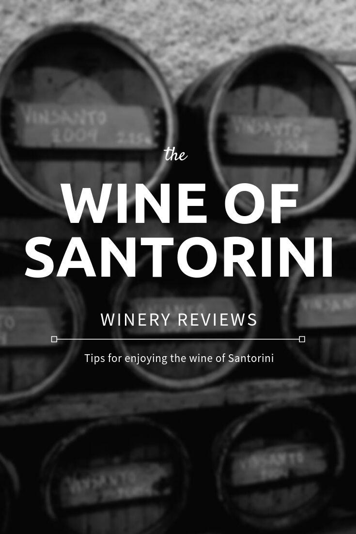 the wine of santorini