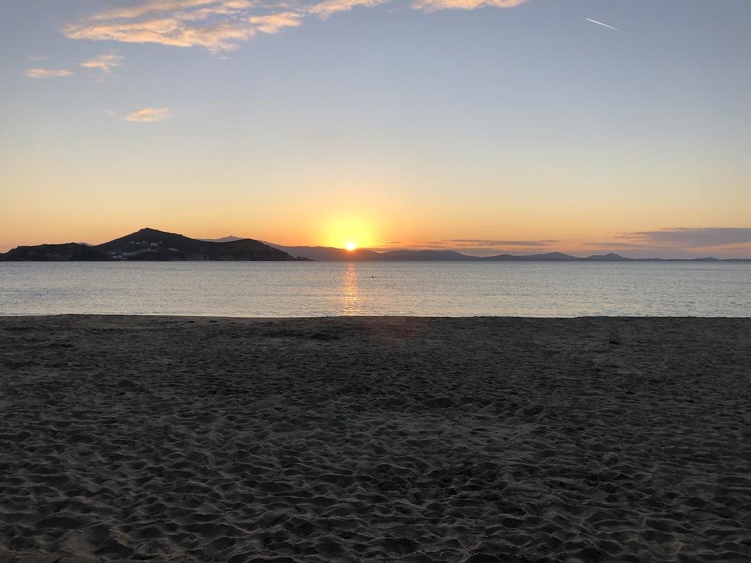 Agios Georgios Beach Near Studios Panos on Naxos Island