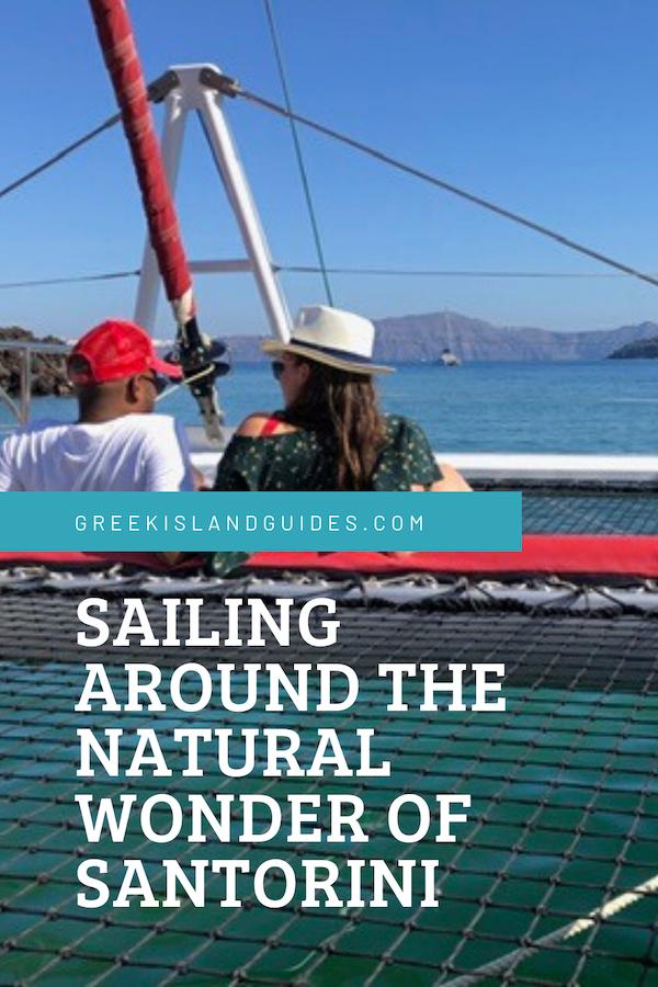 Sailing Santorini Greece