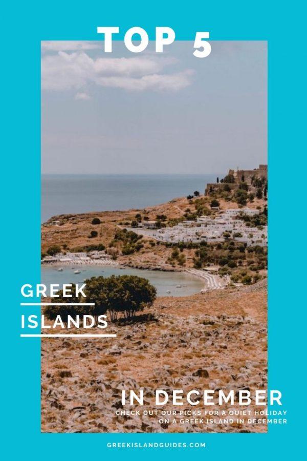 Top 5 Greek Islands in December
