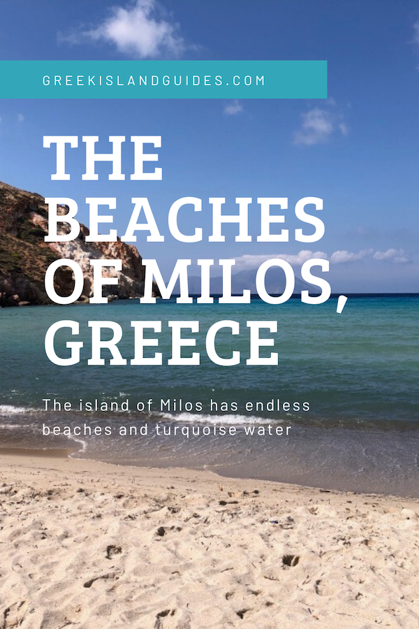The Beaches of Milos Greece