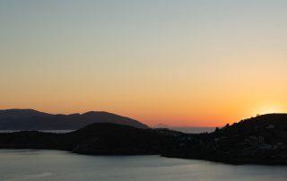 Ios, Greece sunset