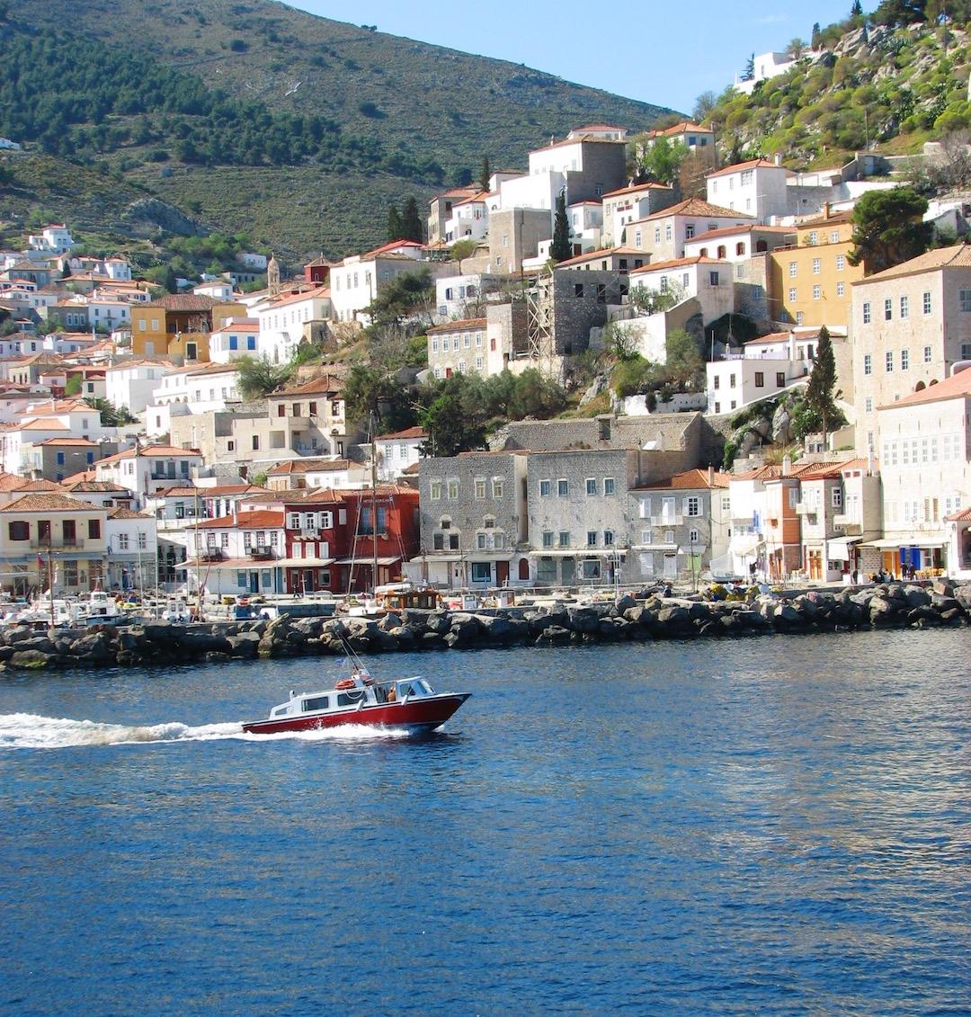 Hydra Island Greece Water Taxi