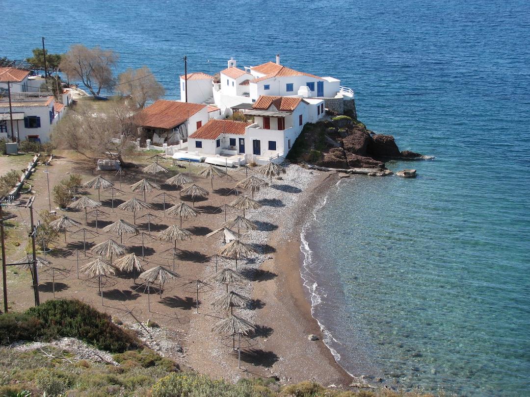 Hydra Island Greece Beach